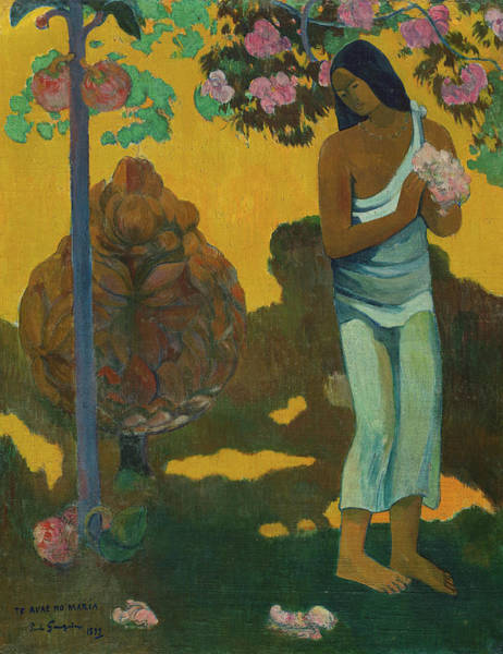 Wall Art - Painting - Month Of Mary, 1899 by Paul Gauguin
