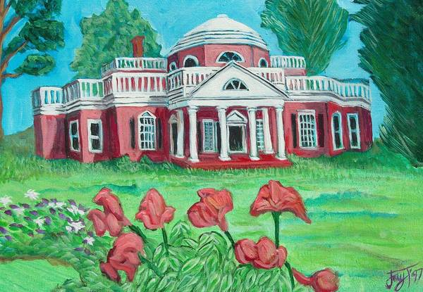 Monticello Painting - Monticello by John Trippel