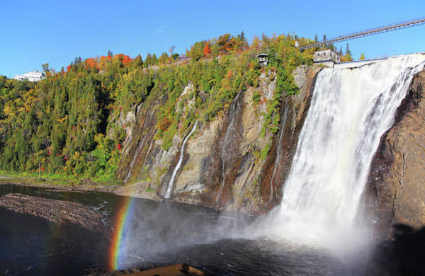 Quebec City Photograph - Montmorency Waterfalls by Buzbuzzer