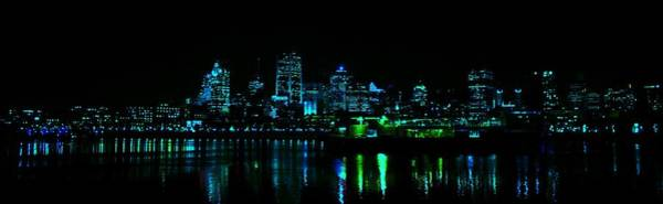 Quebec City Photograph - Montreal By Night by Dominic Labbe