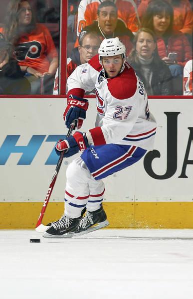 National Hockey League Photograph - Montreal Canadiens V Philadelphia Flyers by Len Redkoles
