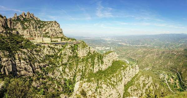 Wall Art - Photograph - Montserrat Mountain In Catalonia, Spain by Alexey Stiop