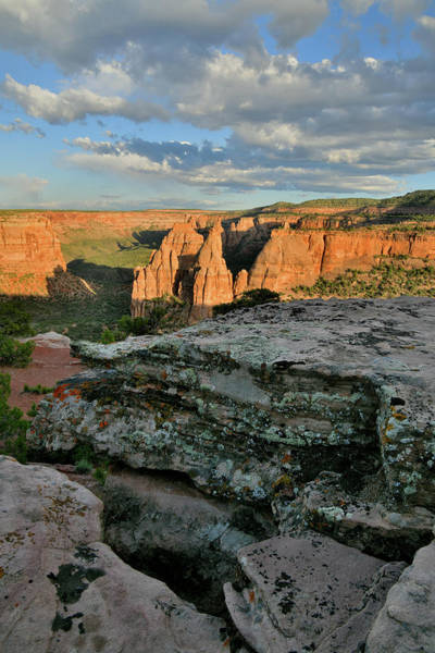 Photograph - Monument Canyon From Rim Trail's Edge by Ray Mathis