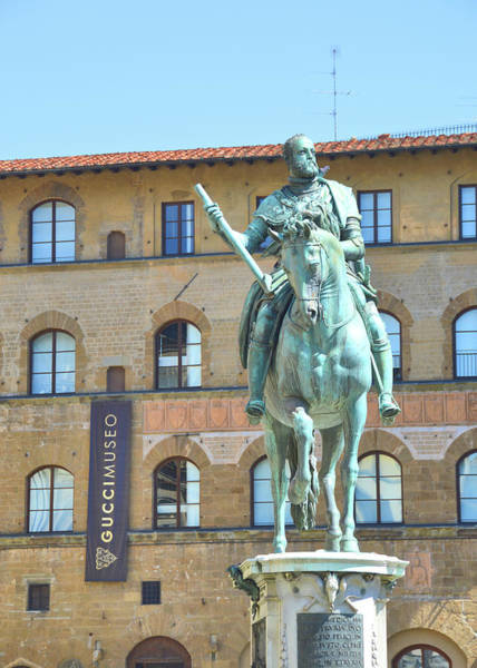 Photograph - Monument Of Cosimo I by JAMART Photography
