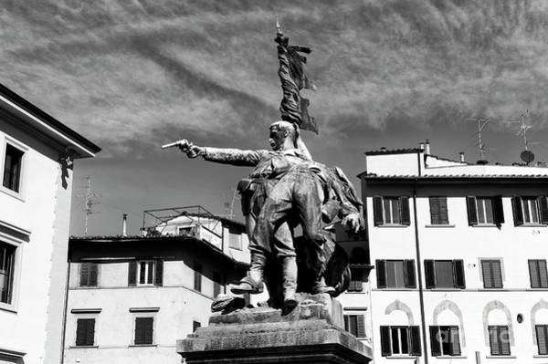 Photograph - Monument Of Piazza Mentana Florence by John Rizzuto
