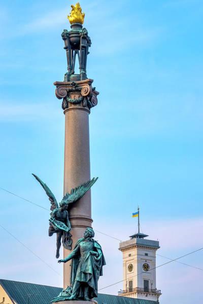 Photograph - Monument To Adam Mickiewicz by Fabrizio Troiani