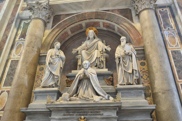Photograph - Monument To Pius Viii by JAMART Photography