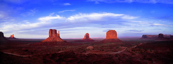 Cloudscape Photograph - Monument Valley At Dusk by Andrew Soundarajan