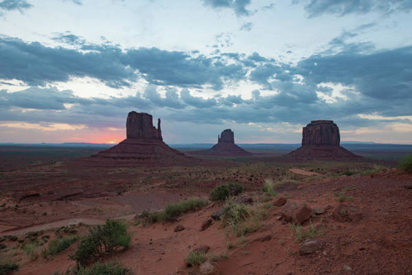 Photograph - Monument Valley Before Sunrise by Mark Duehmig