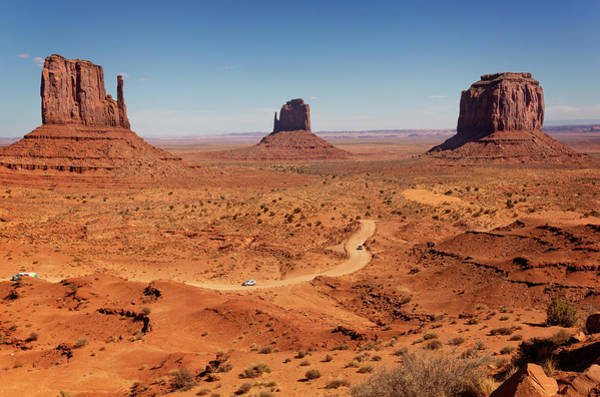 Monument Valley Navajo Tribal Park Wall Art - Photograph - Monument Valley Iv by Ricky Barnard