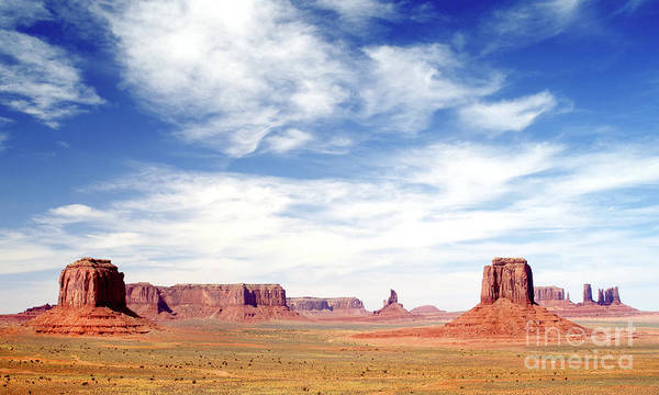 Wall Art - Photograph - Monument Valley Skies - Mural by Douglas Taylor