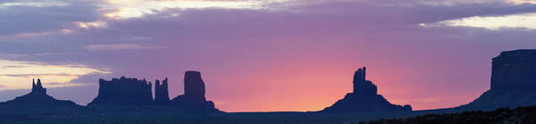 Monument Valley Sunrise Panorama Art Print