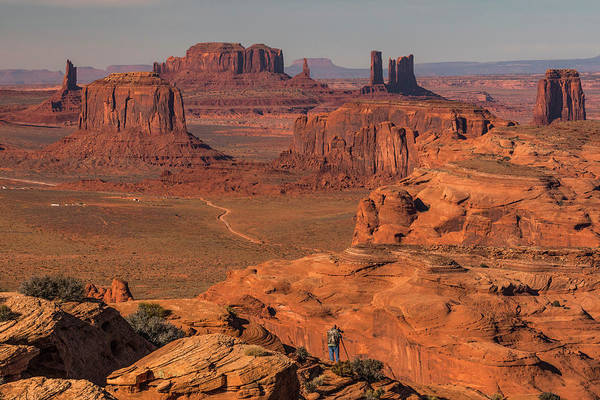 Wall Art - Photograph - Monument Valley Viewed From Hunts Mesa by Adam Jones
