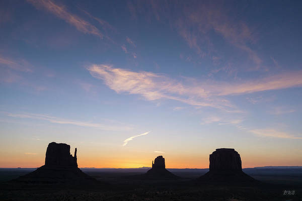 Photograph - Monument Valley Xvi Sunrise Color by David Gordon