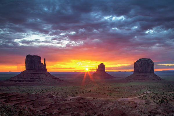 Photograph - Monumental Morning  by Harriet Feagin