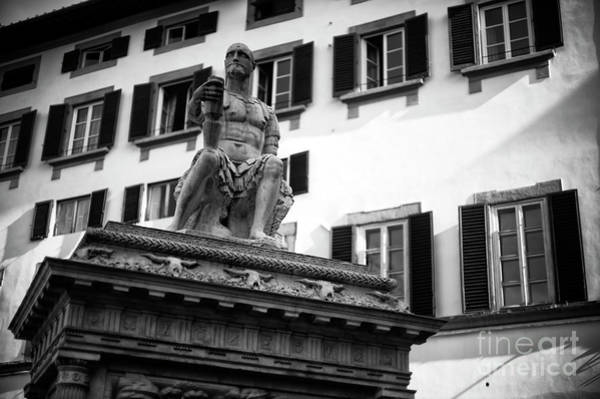 Photograph - Monumento A Giovanni Delle Bande Nere In Florence by John Rizzuto