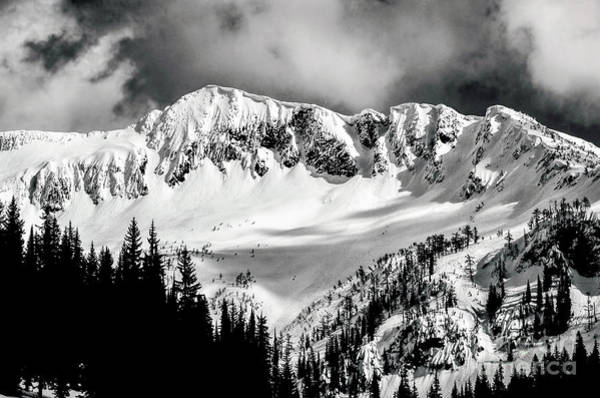 Nelson Bc Photograph - Moody Mountain by Joy McAdams