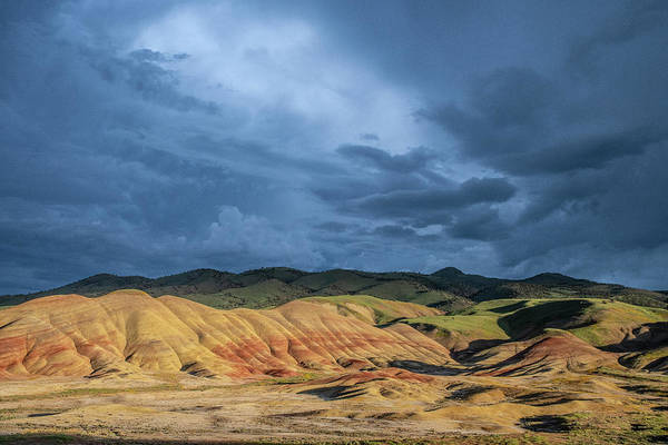 Photograph - Moody Painted Hills by Matthew Irvin