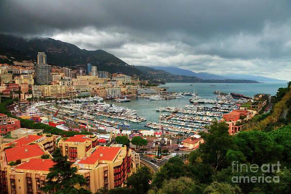Photograph - Moody Port Hercules Monte Carlo Monaco by Wayne Moran