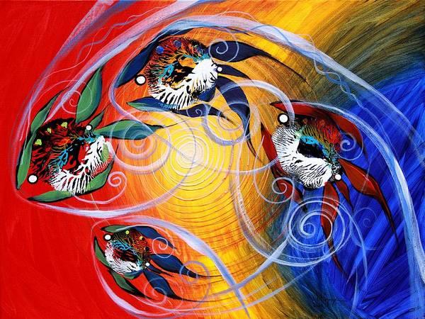 Painting - Moon Dance, 4 by J Vincent Scarpace