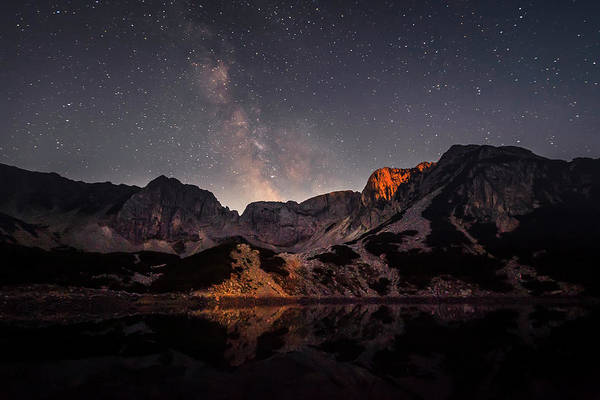 Wall Art - Photograph - Moon Light And Milky Way by Evgeni Dinev