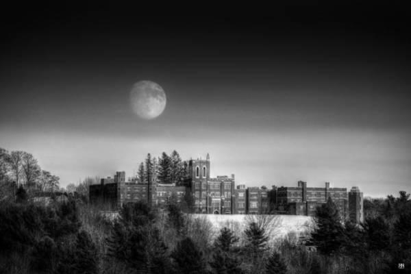 Photograph - Moon Over Oak Grove Coburn by John Meader