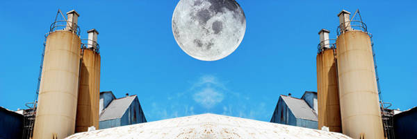 Wall Art - Photograph - Moon Over The Mill by Paul W Faust - Impressions of Light