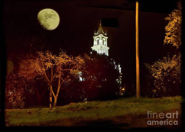 Wall Art - Photograph - Moon Over Todos Santos by Al Bourassa