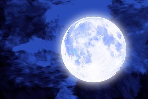 Courage Digital Art - Moonlight by ArtMarketJapan