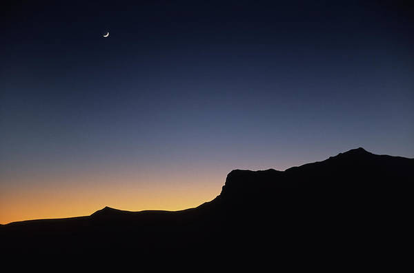 Chihuahua Photograph - Moonrise Over Guadalupe Mountains by Milehightraveler