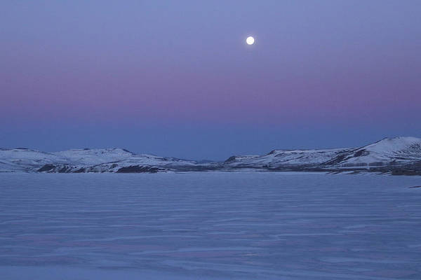 Photograph - Moonset Over The Gunnison by Marie Leslie