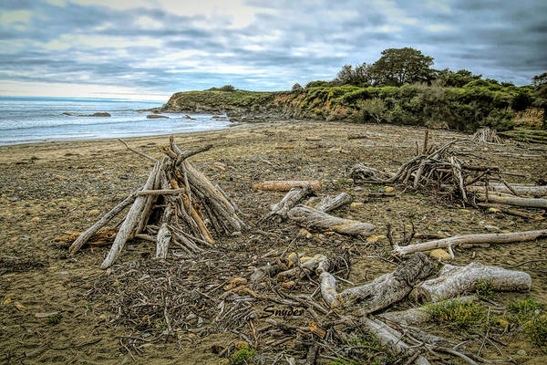 Photograph - Moonstone Beach Driftwood Beach House 3 by Floyd Snyder