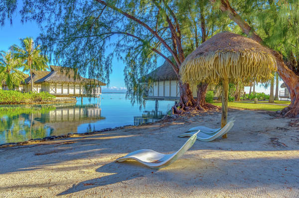 Wall Art - Photograph - Mo'orea French Polynesia Morning Scene by Scott McGuire