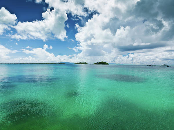Motorboat Photograph - Moorea Island Atoll French Polynesia by Mlenny