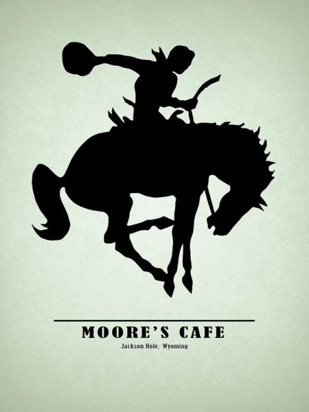 Wall Art - Photograph - Moores Cafe Wyoming 1946 by Mark Rogan