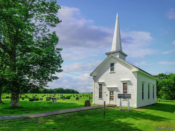 Photograph - Moose Brook Chapel by Ken Morris