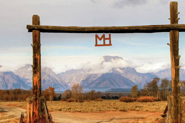 Wall Art - Photograph - Moose Head Ranch by Donna Kennedy
