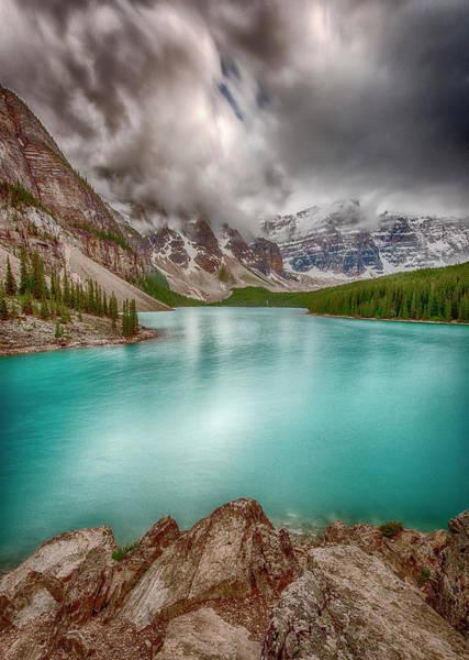 Photograph - Moraine Lake, Banff National Park by Jonathan Tucker