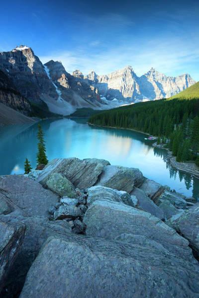 Wall Art - Photograph - Moraine Lake, Canadian Rockies by Dan prat