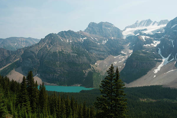 Moraine Lake Photograph - Moraine Lake From Larch Valley by John Elk Iii