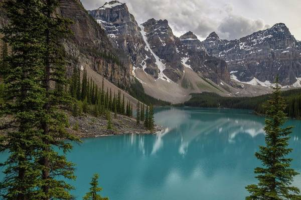 Photograph - Moraine Lake by Paul Schultz