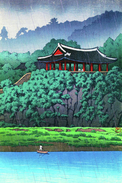 Wall Art - Painting - Morande, Pyongyang, The Sequel Of Scenes From Korea - Digital Remastered Edition by Kawase Hasui
