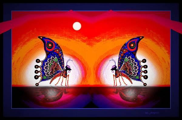 Mixed Media - More Butterflies... by Hartmut Jager