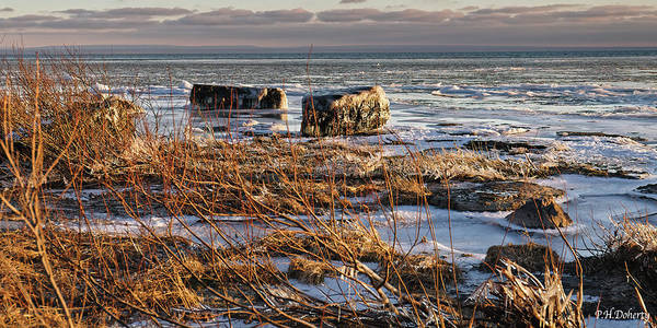 Great Lakes Region Wall Art - Photograph - More Icing Up On Erie by Phill Doherty