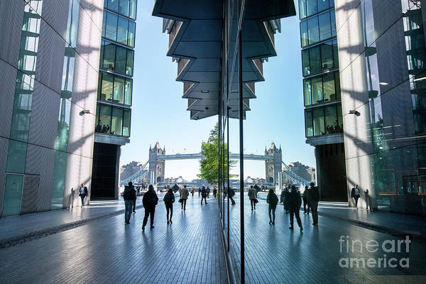 Southbank Photograph - More London Riverside by Tim Gainey
