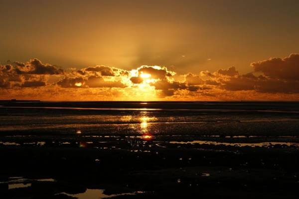 Photograph - Morecambe Bay Sunset. by Lachlan Main
