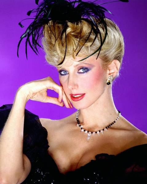 Wall Art - Photograph - Morgan Fairchild Portrait Session by Harry Langdon