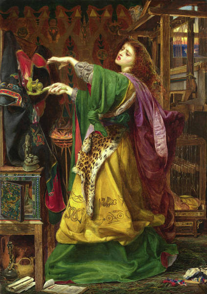 Wall Art - Painting - Morgan by Frederick Sandys