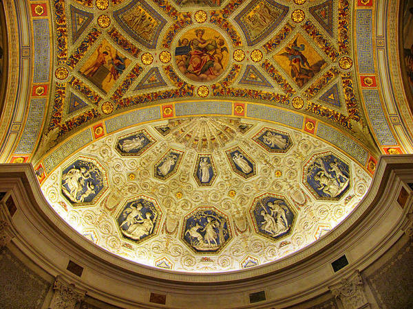 Photograph - Morgan Library Rotunda by Jessica Jenney