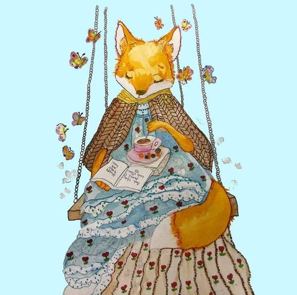 Morgan's Fox Art Print